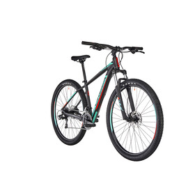 "ORBEA MX 60 MTB Hardtail 29"" sort/turkis"